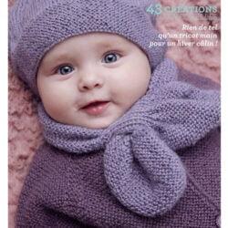 catalogue pour tricoter de la layette