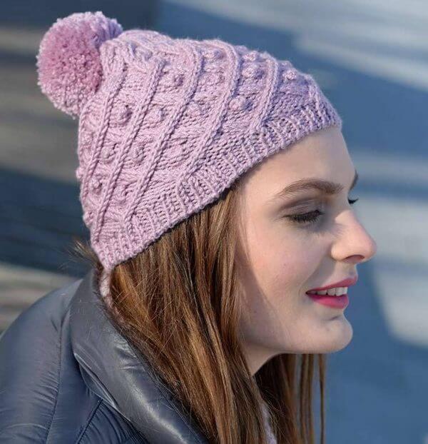 bonnet avec laine silence Plassard
