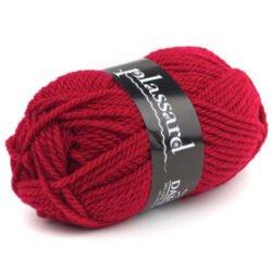 laine rouge belle épaisseur