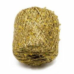 laine argenté et or