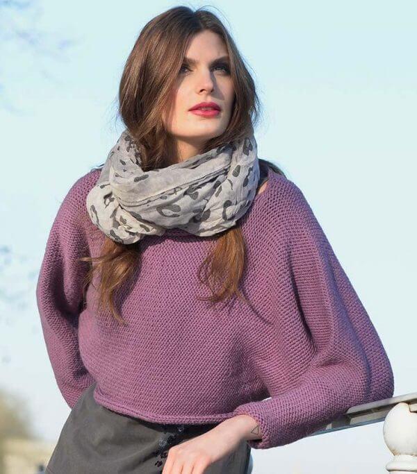 pull en laine pour mi-saison