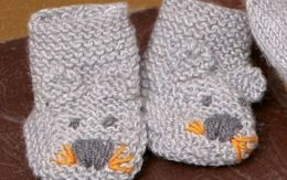 tuto chaussons bebe facile au tricot