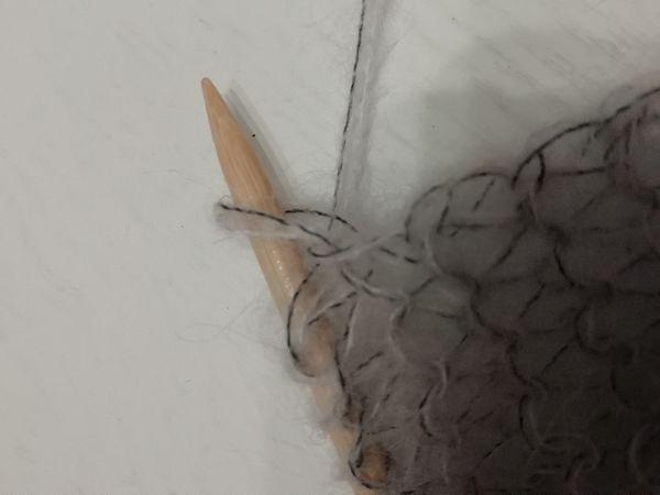 tricoter le point mousse