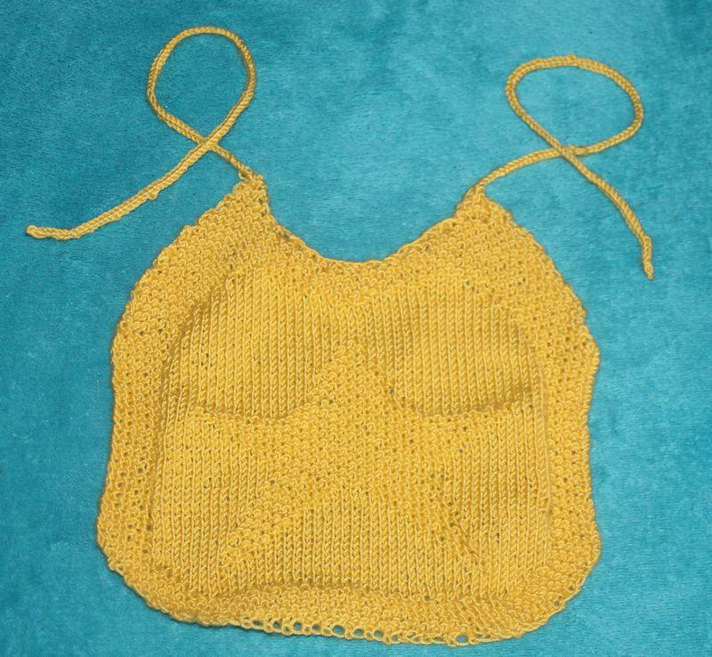 bavoir laine