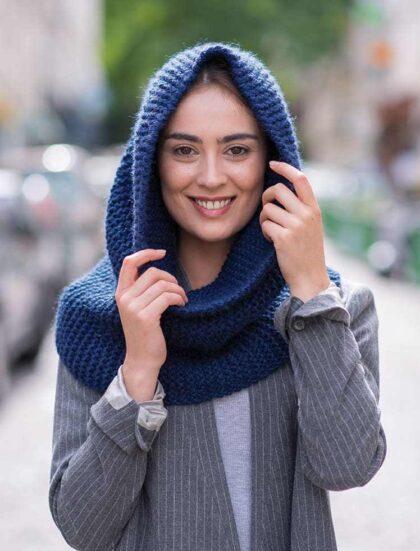 KIT SNOOD avec laine de qualité