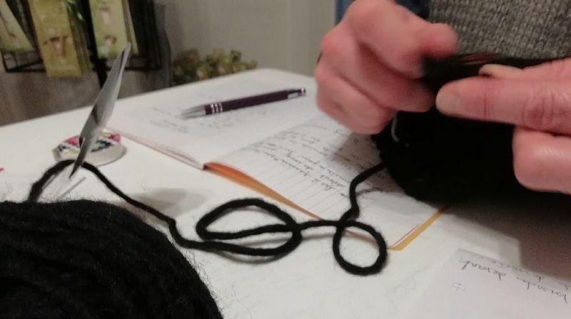 apprentissage du tricot