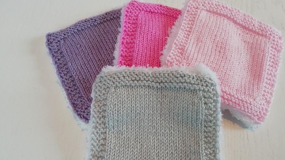 lingette demaquillante tricot