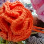 fleur de douche en laine