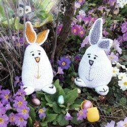 Lapins de Pâques – modèle 113 gratuit