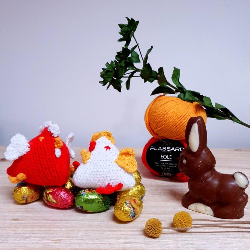 Les poulettes de Pâques – modèle 143 gratuit